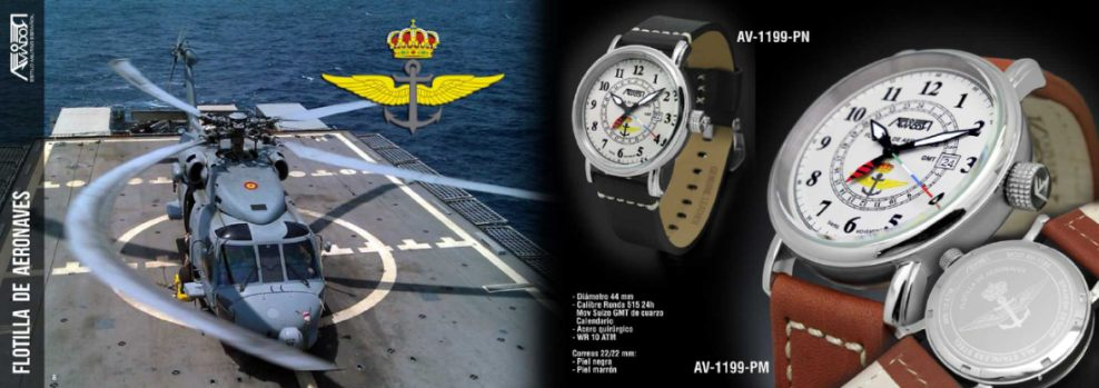 Reloj Aviador Flotilla de Aeronaves